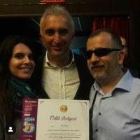 Korolor festivali hatırası, sevgili Aslıhan Umar ve Öcal Öcalan ile