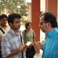 After the workshop at Jawaharlal Nehru University, New Delhi, June 2007
