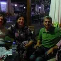 Sevgili dostlarımız Ahmet ve Filiz Sepetoğlu ile Tire'de