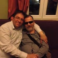 Sevgili kardeşim Cenk Güray ile