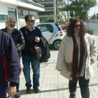 Atina sokakları, Erdem, Özgür, Rahmi ve Yota ile
