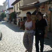 Elif ile Tire sokaklarında