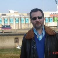 Jacques Brel notaları önünde, Oostende,Belçika,2007.
